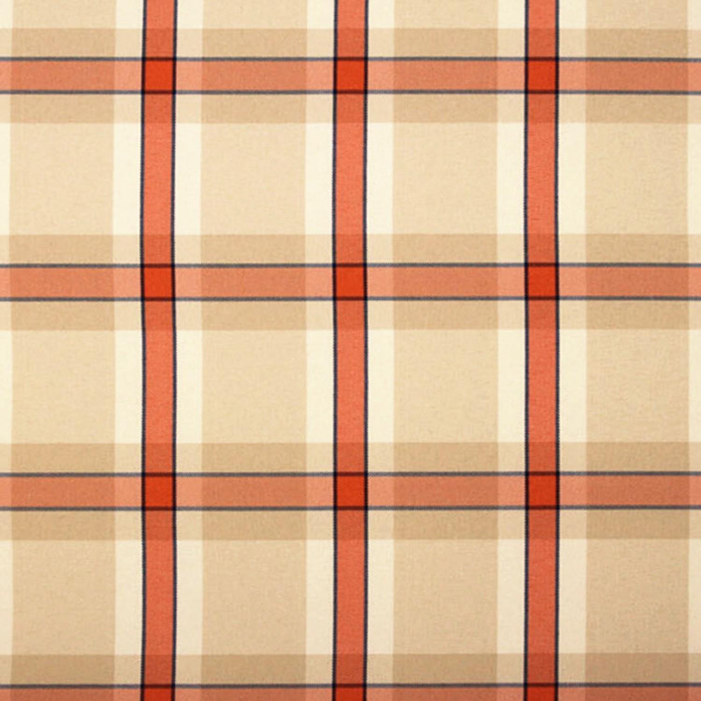 sitzauflage hochlehner polsterauflage stuhlauflage auflage karo orange ebay. Black Bedroom Furniture Sets. Home Design Ideas