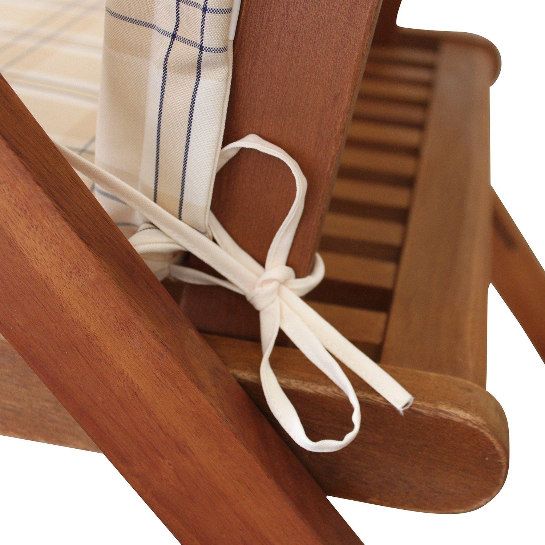 gartenm bel sitzgruppe gartenset essgruppe garnitur set 9tlg holz mit auflagen ebay. Black Bedroom Furniture Sets. Home Design Ideas