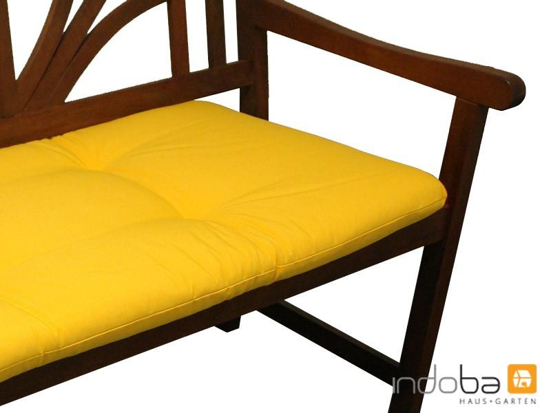 bankauflage sitzkissen gartenbank auflage sitzpolster kissen polster sitzauflage ebay. Black Bedroom Furniture Sets. Home Design Ideas