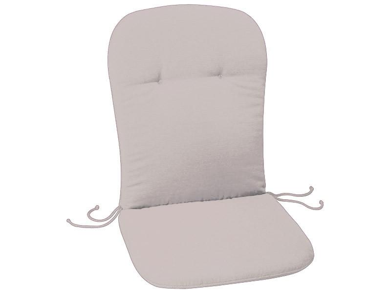 best stuhlauflage sitzauflage monoblock polster auflage hochlehner gartenm bel ebay. Black Bedroom Furniture Sets. Home Design Ideas