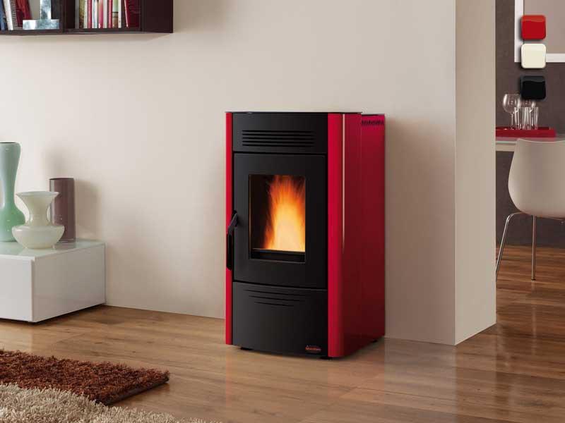 pelletofen 6 2 kw extraflame dorina kaminofen wasserlos. Black Bedroom Furniture Sets. Home Design Ideas