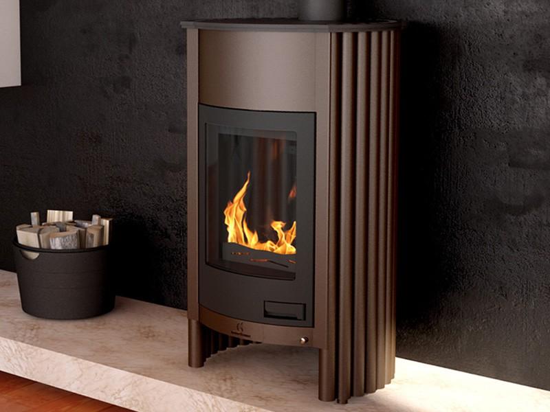 kaminofen holzofen warmluftofen ofen kamin stahlofen masterflamme grande i ebay. Black Bedroom Furniture Sets. Home Design Ideas