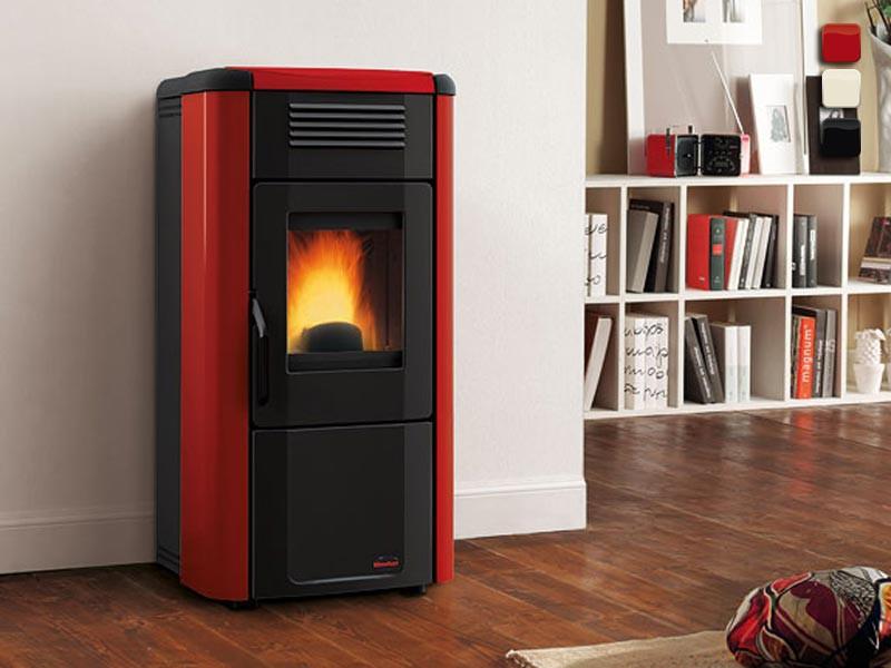 pelletofen 10 2 kw extraflame viviana plus kaminofen. Black Bedroom Furniture Sets. Home Design Ideas