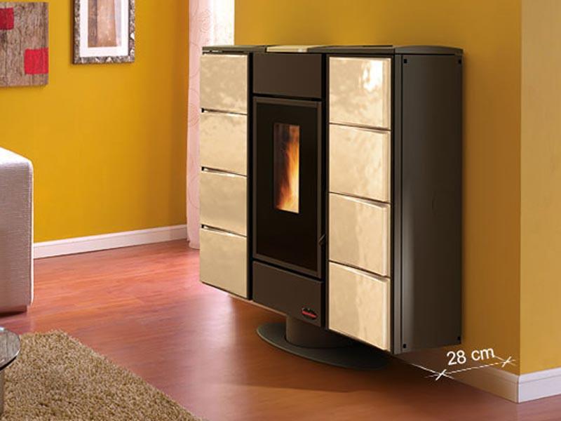 wasserf hrender pelletofen 12 7 kw extraflame elisir idro kaminofen kachelofen ebay. Black Bedroom Furniture Sets. Home Design Ideas