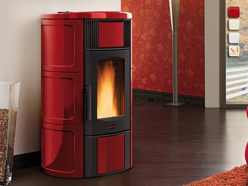 wasserf hrender pelletofen 18 8 kw extraflame iside idro. Black Bedroom Furniture Sets. Home Design Ideas