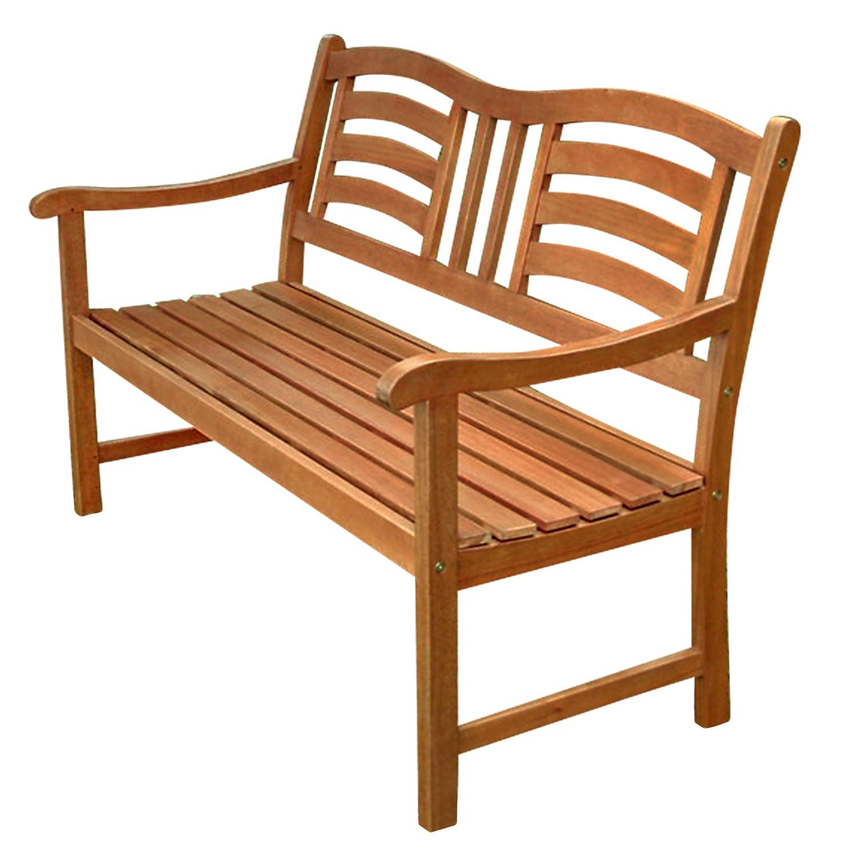 gartenm bel set 5 tlg garnitur aus holz 1 tisch 2 st hle 2 b nke ebay. Black Bedroom Furniture Sets. Home Design Ideas