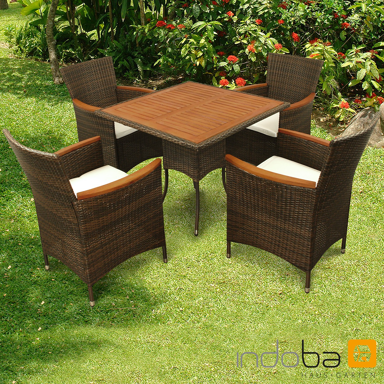 gartenmobel set polyrattan braun gartenmobel set. Black Bedroom Furniture Sets. Home Design Ideas