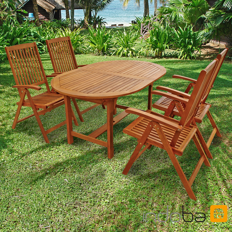 Gartenmöbel Set 5-teilig Sun Shine - Serie Sun Shine - IND-70300-SSSE5