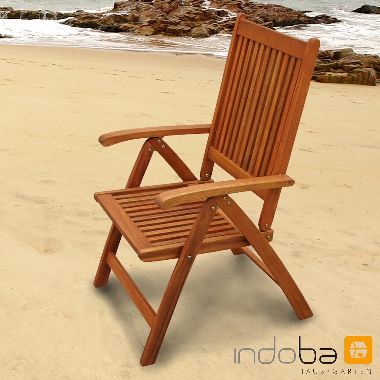 Gartenmöbel Set 9-teilig Bangor mit Auflagen Comfort Karo Orange