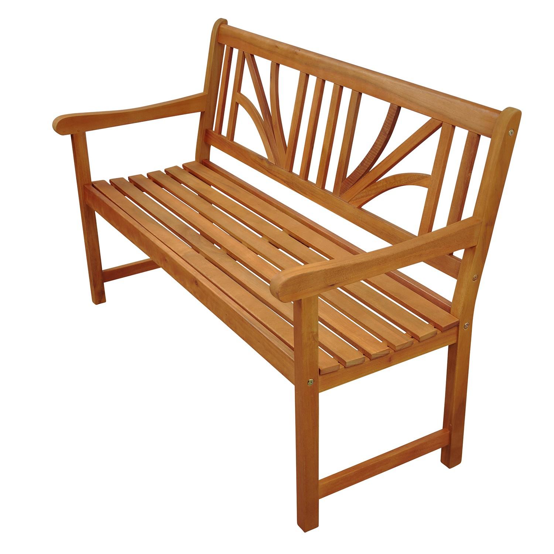 gartenbank sitzbank 2 5 sitzer holz teak l behandelt hochwertig verarbeitet ebay. Black Bedroom Furniture Sets. Home Design Ideas