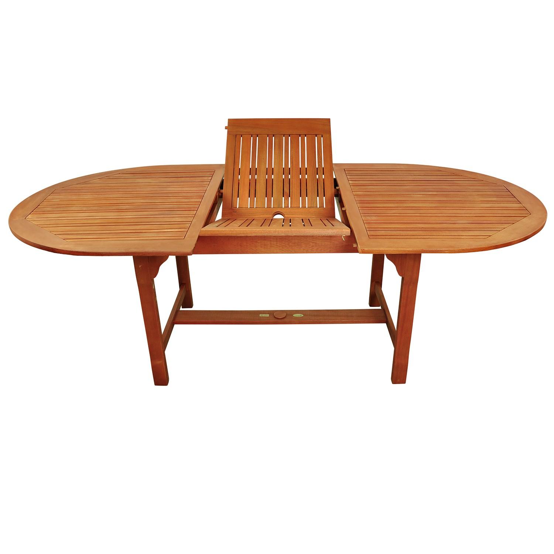 gartenm bel garnitur 9 tlg holz tisch 6 hochlehner servierwagen liege ebay. Black Bedroom Furniture Sets. Home Design Ideas
