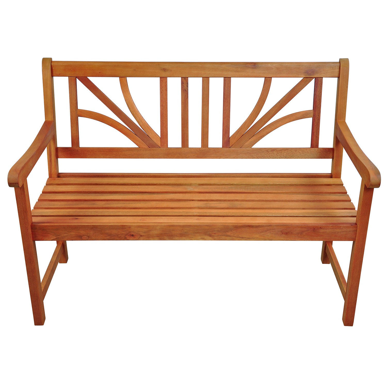 gartenm bel garnitur holz 4 tlg tisch 2 st hle bank ebay. Black Bedroom Furniture Sets. Home Design Ideas