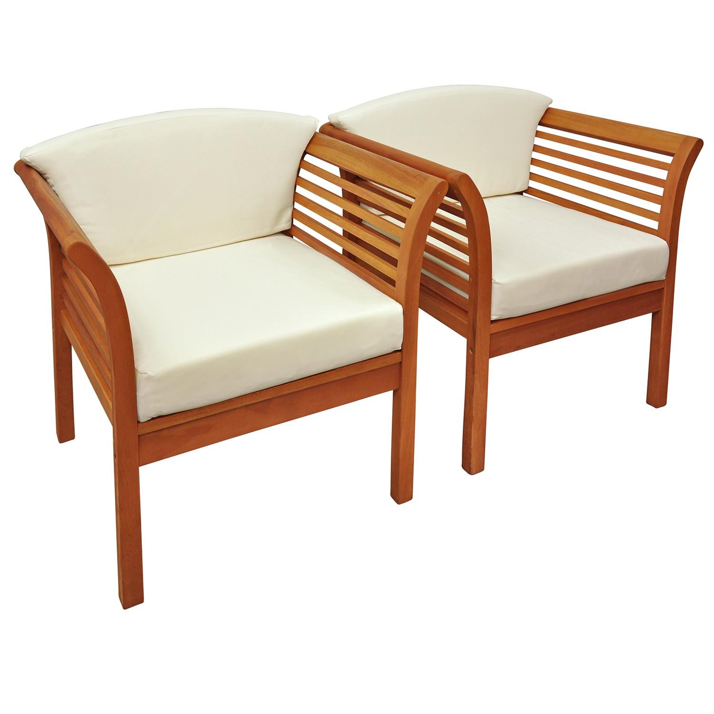 2x gartenstuhl gartensessel loungesessel stuhl. Black Bedroom Furniture Sets. Home Design Ideas
