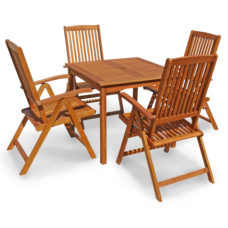 gartenm bel set quadratisch sitzgruppe f balkon terrasse. Black Bedroom Furniture Sets. Home Design Ideas