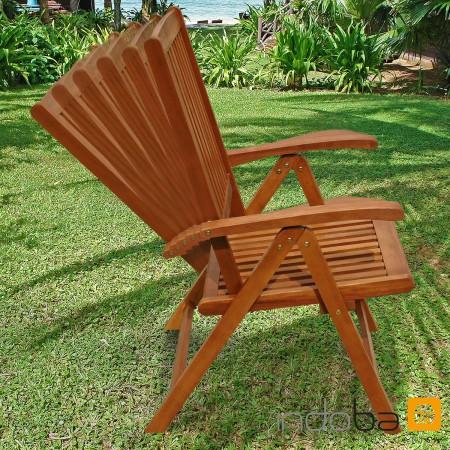 gartenm bel set 9 tlg sun shine holz polsterauflagen comfort beige kariert ebay. Black Bedroom Furniture Sets. Home Design Ideas