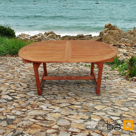 Gartenmöbel Set 5-teilig Holz, Serie Sun Flair - 4 Stühle, 1 Tisch ...