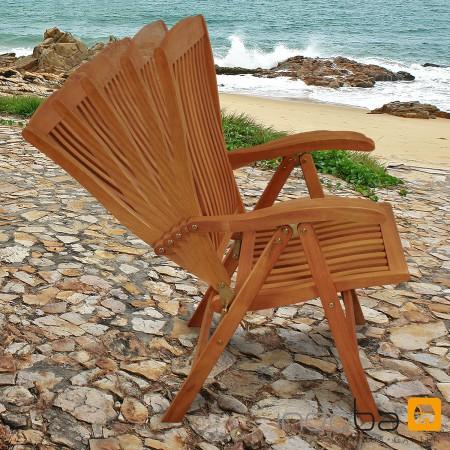 gartenm bel garnitur 9 tlg aus holz m sonnenliege serie sun flair von indoba ebay. Black Bedroom Furniture Sets. Home Design Ideas