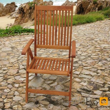 gartenm bel garnitur 9 tlg bali holz polsterauflagen comfort orange kariert ebay. Black Bedroom Furniture Sets. Home Design Ideas