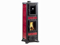 Kaminofen La Nordica Fulvia Forno Liberty - Bordeaux