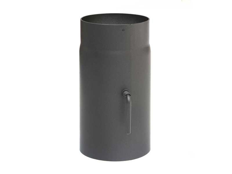 rauchrohr 250 mm mit zugregulierung robustes stahlblech durchmesser w hlbar ebay. Black Bedroom Furniture Sets. Home Design Ideas