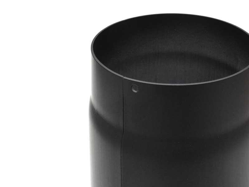 rauchrohr 500 mm robustes stahlblechrohr einseitig. Black Bedroom Furniture Sets. Home Design Ideas