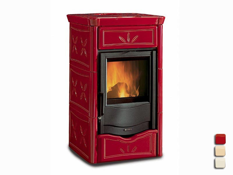 kaminofen 8 kw la nordica nicoletta. Black Bedroom Furniture Sets. Home Design Ideas