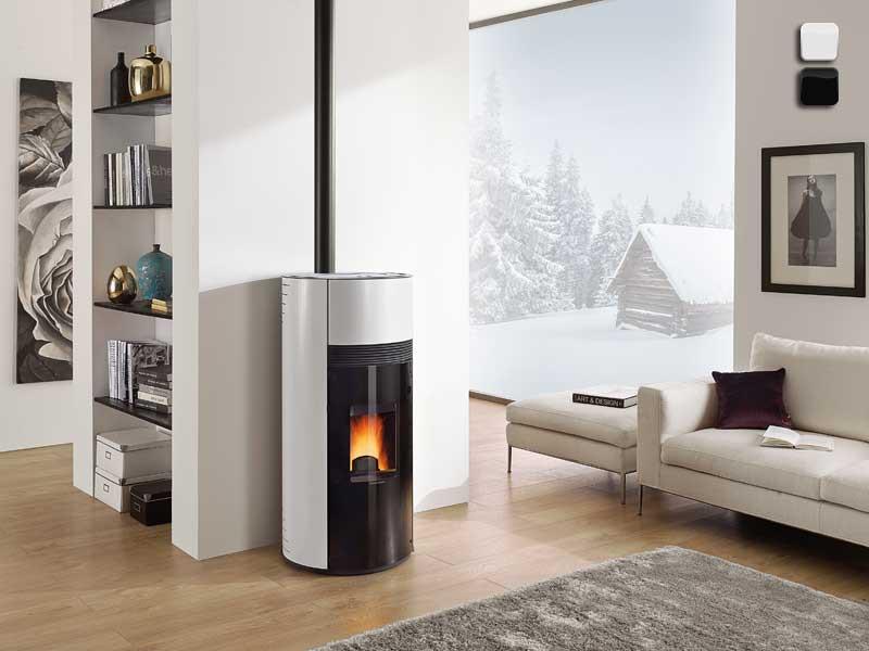 pelletofen 9 kw extraflame doroty. Black Bedroom Furniture Sets. Home Design Ideas