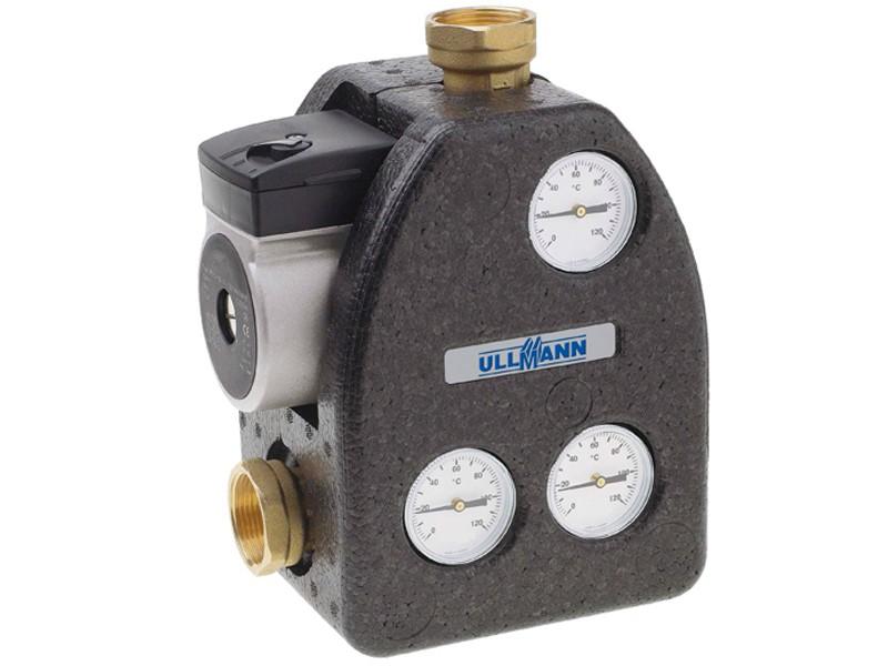 Ladeventileinheit für Ullmann-Festbrennstoffkessel
