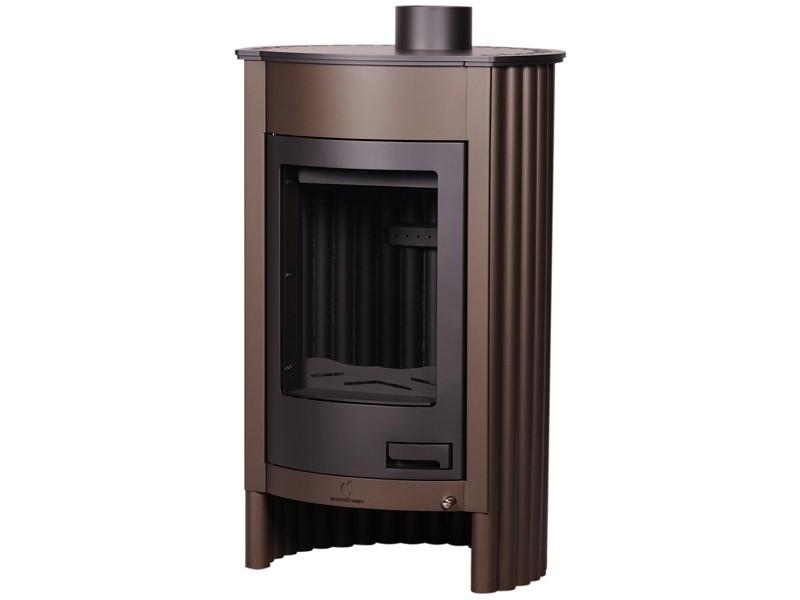 kaminofen holzofen warmluftofen ofen kamin stahlofen masterflamme medie i ebay. Black Bedroom Furniture Sets. Home Design Ideas