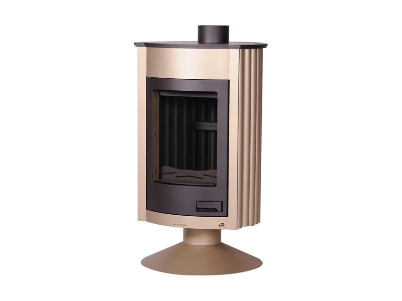 kaminofen holzofen warmluftofen ofen kamin stahlofen masterflamme medie ii ebay. Black Bedroom Furniture Sets. Home Design Ideas