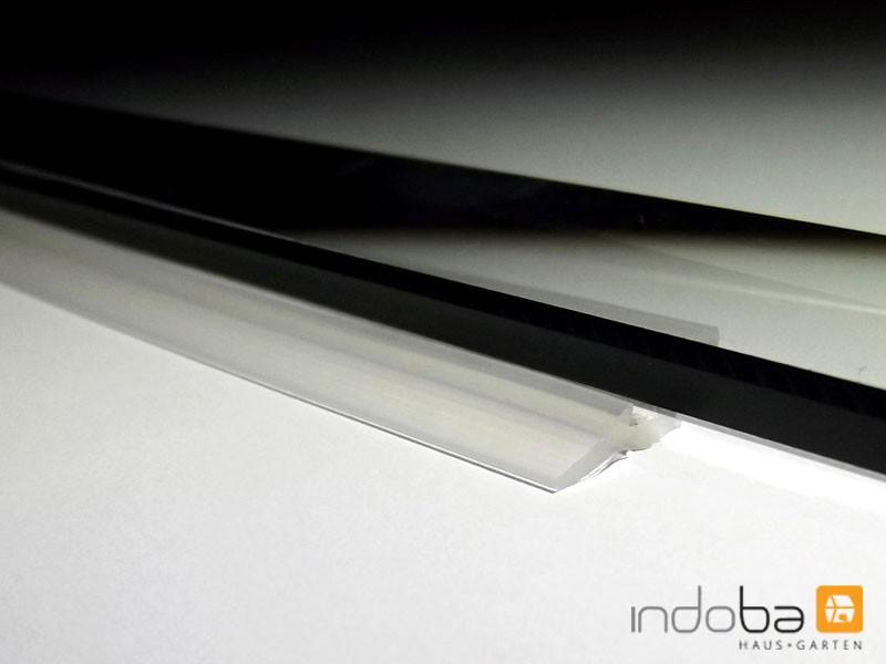 Silikon - Glasplattendichtung, Dichtlippe für Funkenschutzplatte
