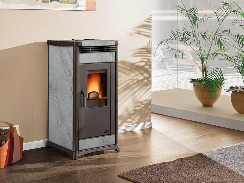 pelletofen 10 3 kw extraflame irma kaminofen wasserlos. Black Bedroom Furniture Sets. Home Design Ideas