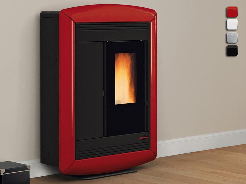 pelletofen 10 2 kw extraflame souvenir lux. Black Bedroom Furniture Sets. Home Design Ideas