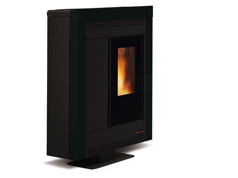 pelletofen 10 2 kw extraflame souvenir steel kaminofen. Black Bedroom Furniture Sets. Home Design Ideas