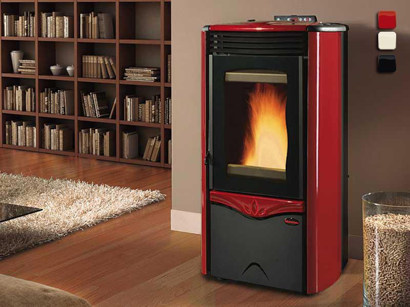 wasserf hrender pelletofen 12 kw extraflame duchessa idro. Black Bedroom Furniture Sets. Home Design Ideas